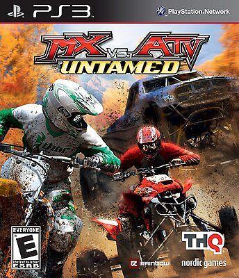 MX vs. ATV Untamed PS3! DIRT BIKES, MUD, OFFROAD, MONSTER TRUCKS, RACE RIDE FUN