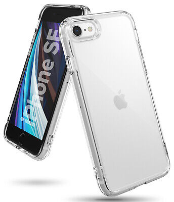 For Apple iPhone SE 2020 / iPhone 8 Case | Ringke [Fusion] Clear PC + TPU Cover
