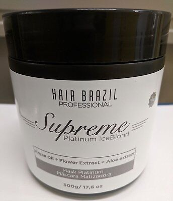 Brasilean Masque Supreme Platinum Ice Blond