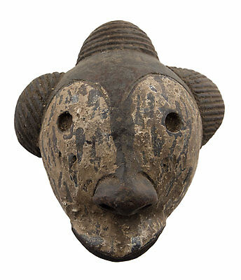 Mask African Pasport Miniature Divination Fetish Diminutive 6478 B4MB