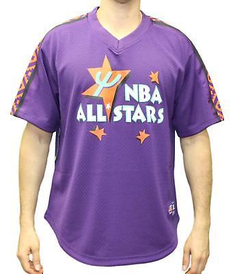NBA All-Star 1995 East Mitchell & Ness NBA Men's Mesh Jersey Shirt - Purple