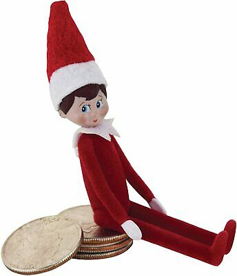 World's Smallest ELF ON THE SHELF Mini Doll Christmas Toy