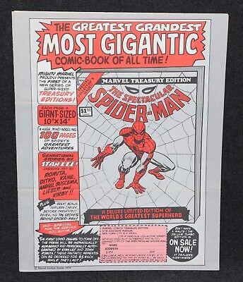 Marvel Super Heroes 1974 Merchandise Letter & Catalog Marvelmania Mego