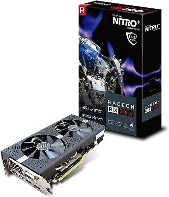 SAPPHIRE Nitro+ Radeon RX 580 4GB GDDR5 Graphics Card GPU Excellent Condition
