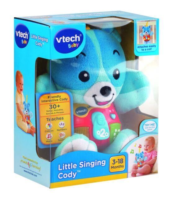 NEW VTECH BABY INFANT TOY LITTLE SINGING CODY MUSICAL TEDDY BEAR 165703