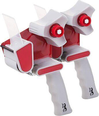 2 Packing Tape Dispenser Tape Gun Shipping Dispenser Carton Sealer 2 Packs