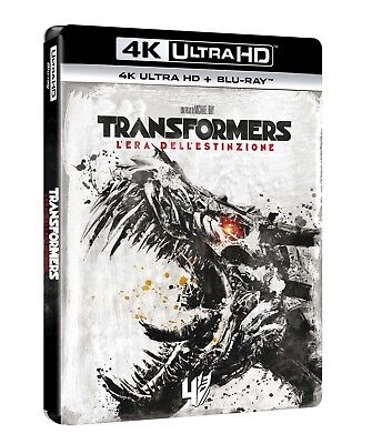 Transformers 4 - L'Era Dell'Estinzione (Blu-Ray 4K Ultra HD + Blu-Ray) PARAMOUNT segunda mano  Embacar hacia Argentina