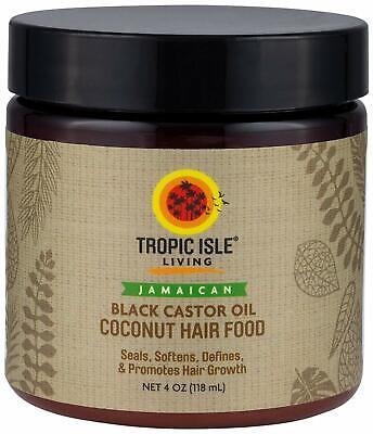 Coconut Jamaican Black Castor Oil Hair Food (4 oz.) (Coconut Jamaican Castor Oil)