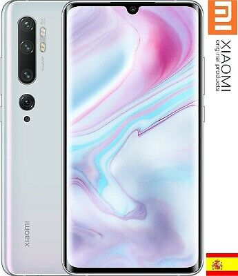 Xiaomi MI NOTE 10, Snapdragon 730G ,6GB+128GB, Glacier BLANCO, ESPAÑA VERSION