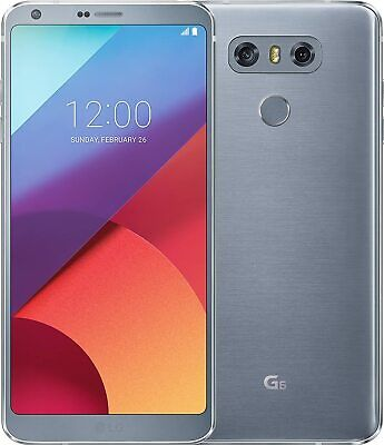 LG Electronics G6 H870 Smartphone 5,7 Zoll 32GB Android 7.0 platinum 13 MP