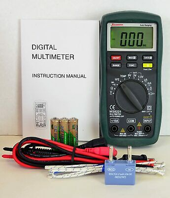 Sinometer Automanual Ranging Digital Multimeter Ac Dc Voltage Current Tester
