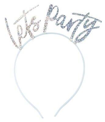 en Party Silber Kostüm Party Stirnbänder X5 Geburtstag (Party-stirnbänder)