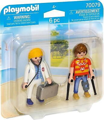 Playmobil 70079 Duo Pack - Doctor And Patient