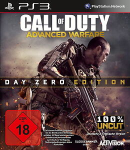 Call of Duty: Advanced Warfare -- Day Zero Edition für PS3 *TOP* (mit OVP)
