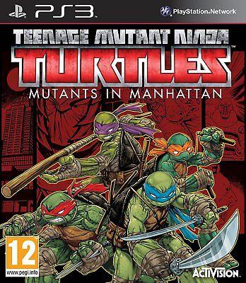PS3 Spiel Teenage Mutant Ninja Turtles: Mutanten in Manhattan NEUWARE