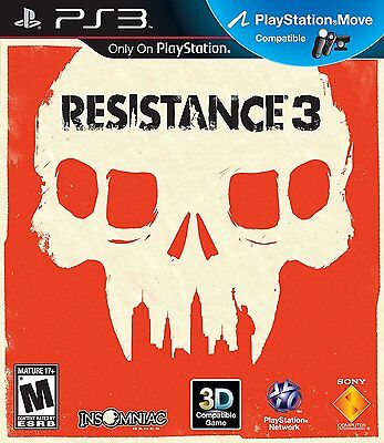 Resistance 3 (Sony PlayStation 3, 2011)