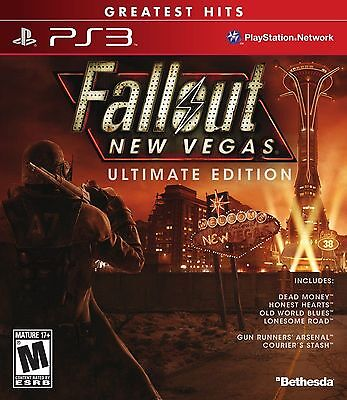 Fallout New Vegas: Ultimate Edition [PlayStation 3 PS3, Greatest Hits, All DLC] for sale  Shipping to Nigeria
