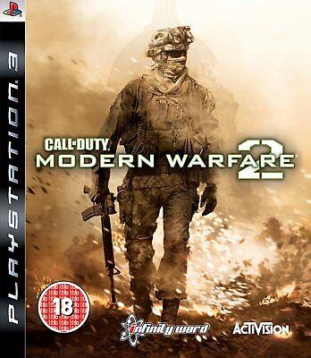 Call of Duty Modern Warfare 2 (Sony PlayStation 3) COD PS3 Game...
