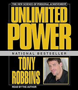 Unlimited Power Featuring Tony Robbins Live! by Anthony(Audio CD – Audiobook)
