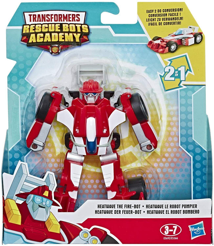 Transformers Rescue Bots Academy 2 en 1 Robot Action Figure-Optimus Prime
