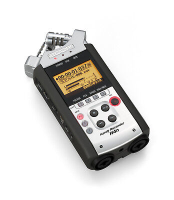 ZOOM H4N HANDY MULTI TRACK RECORDER STEREO MICROPHONE 8GB SD CARD H2N PRO H5 H6 d'occasion  Expédié en Belgium
