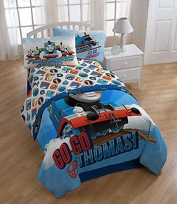 thomas the train twin bed set - kids boys sheet sets with multiple