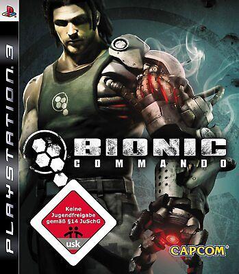BIONIC COMMANDO   Sony PlayStation 3   PS3   Zustand gut