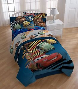 disney pixar cars twin size sheet set and pillow case