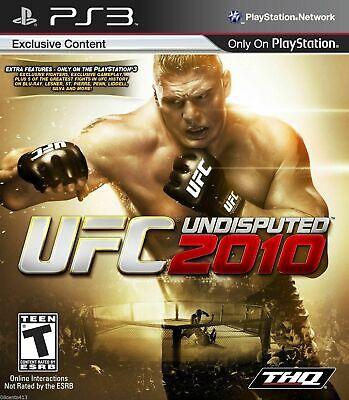 UFC Undisputed 2010 (Sony PlayStation 3, PS3, 2010) *COMPLETE* comprar usado  Enviando para Brazil