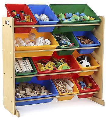 Kids Storage Organizer Playroom Bin Children Toy Box