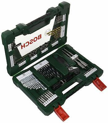 Bosch V-Line Titanio Maletín de 83 unidades para taladrar y atornillar