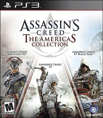 PLAYSTATION 3 PS3 GAME ASSASSIN'S CREED THE AMERICAS COLLECTION BRAND NEW SEALED