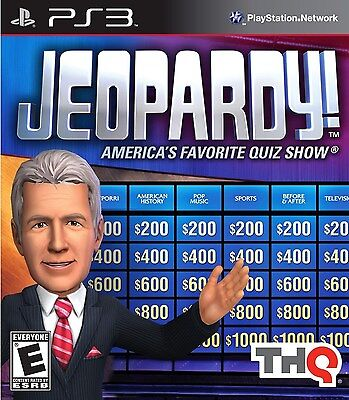 Jeopardy [PlayStation 3 PS3, TV Trivia Knowledge Quiz Challenge Video Game] NEW
