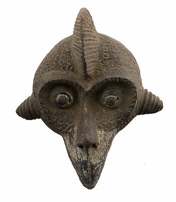 Mask African Passport Miniature Divination Zoomorphic Fetish 6483 B4MB