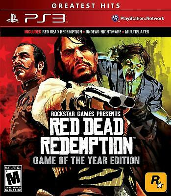 Red Dead Redemption: Game of the Year Edition ( Sony PlayStation 3 / PS3 (Red Dead Game Of The Year Edition)