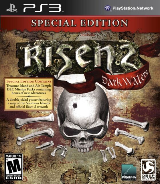 RISEN 2 DARK WATER SPECIAL EDITION NEW & FACTORY SEALED SONY PS3