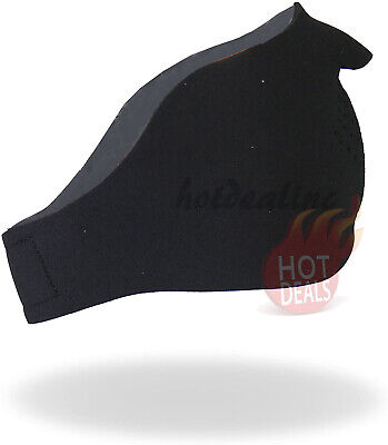 Black Neoprene Half Face Mask Waterproof