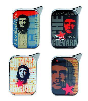 "FEUERZEUG ""Che Guevara"" Gas Metall Piezozündung Original Geschenk schwer 4var 66"