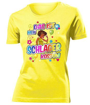 DAS IST MEIN SCHLAGER KOSTÜM T-Shirt Damen - Das Ist Mein Kostüm T