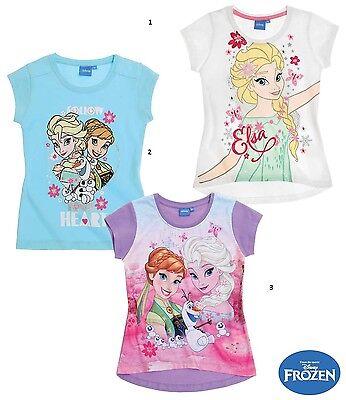 Die Eiskönigin Frozen Disney T- Shirt Elsa Anna 104 116 128 140 online kaufen