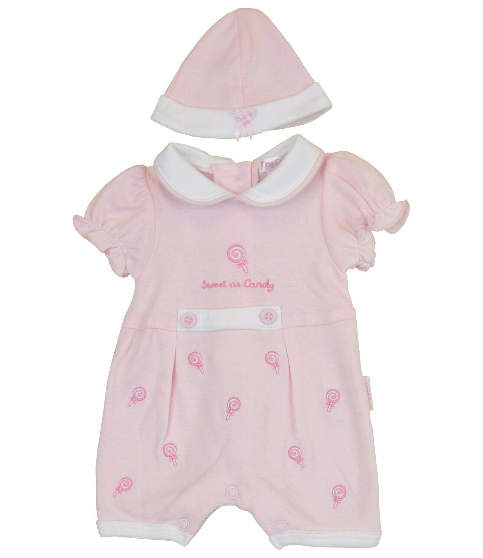 BabyPrem Preemie Baby Girls Romper Playsuit Set Premature Cl