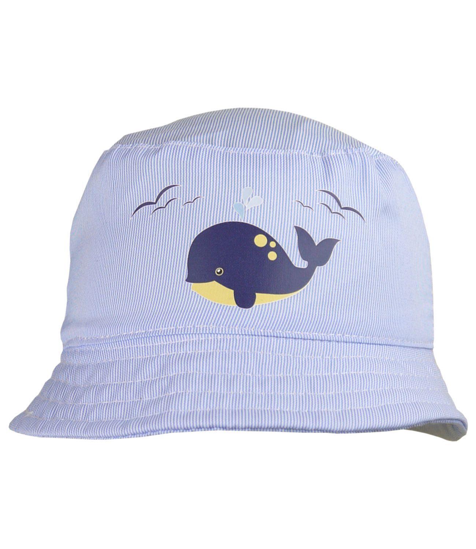 BabyPrem Baby Boys Blue Sun Hat Summer Beach Hats Caps 3-6m,