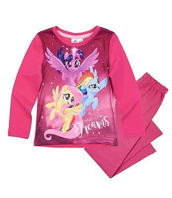 My little Pony Pyjama Schlafanzug versch Styles Gr 104 110 116 128 140 ()