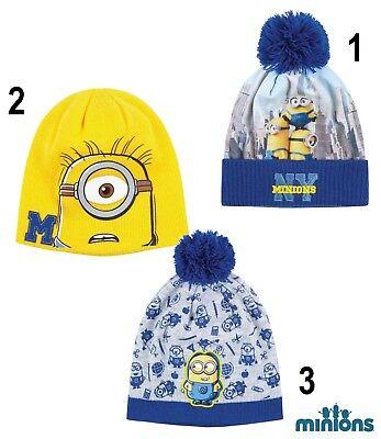 Minions Minion Cap Wintermütze Hut Mütze Kopfbedeckung Größe 52 - 54 NEU ()