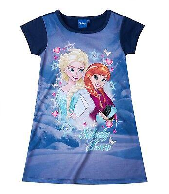 Disney Frozen Eiskönigin Sommer Kleid blau Gr. 128 - Disney Frozen Kleid