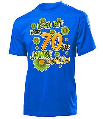 Karnevalskostüm - Das ist mein 70er Jahre kostüm  T-Shirt Herren S-XXL