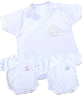 BabyPrem Micro Preemie Baby Clothes NICU Neonatal Wrap Bodysuit Vest Boys Girls  Micro Preemie Clothes