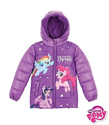 My Little Pony Mädchen Winterjacke Größe 104 110 116 128 140 ()