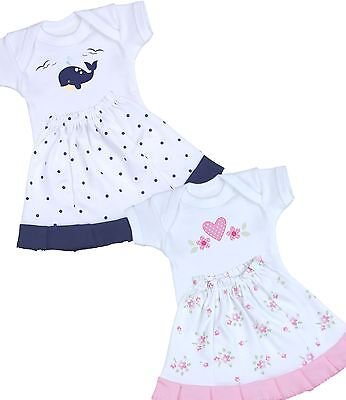 BabyPrem PREEMIE Baby Clothes Early Tiny Baby Girls Skirt & One-Piece Set Outfit
