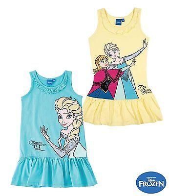 �nigin Sommer Kleid Gr 98 /  128  oder 140 NEU Lizenzware (Disney Frozen Kleid)